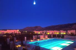 Night time at Sierra Tucson Drug and Alcohol Rehab Center