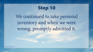 problems-12-steps-step-10