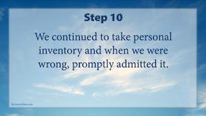 problems-12-steps-step-10