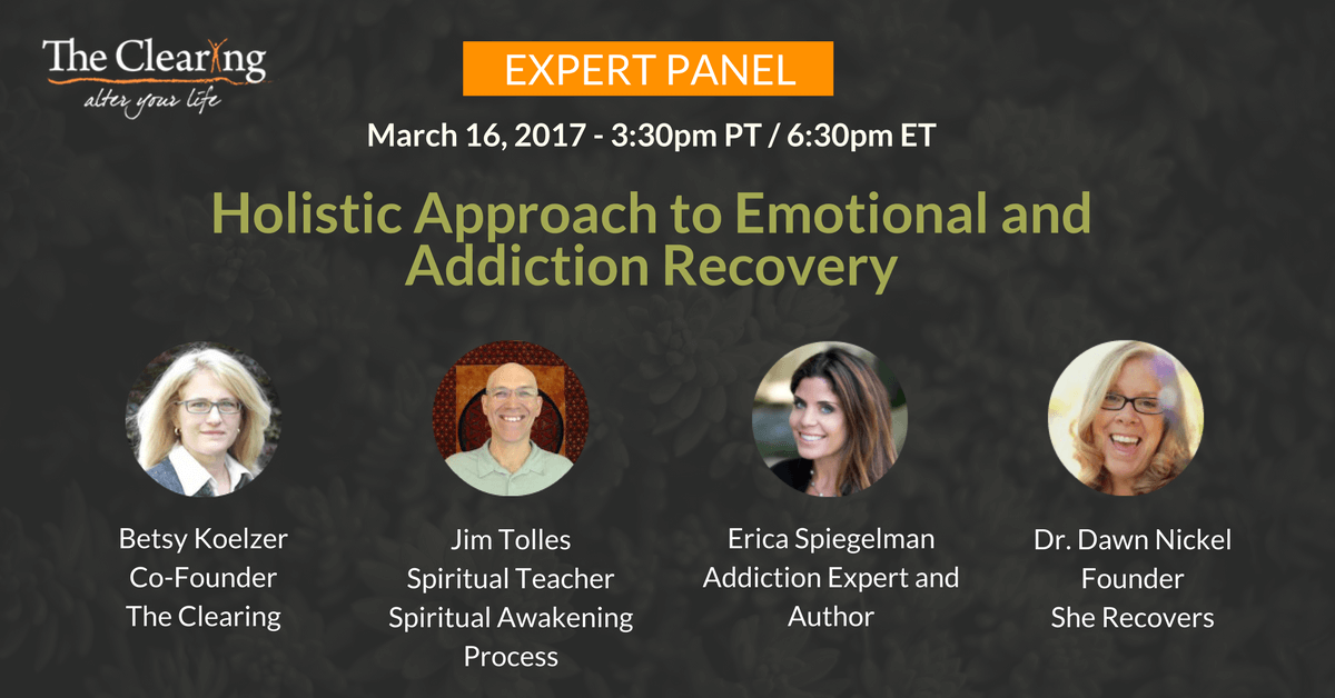 Expert Panel: Holistic Approach to Emotional and Addiction Recovery