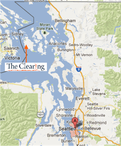 Map Showing You Where The Clearing is Located