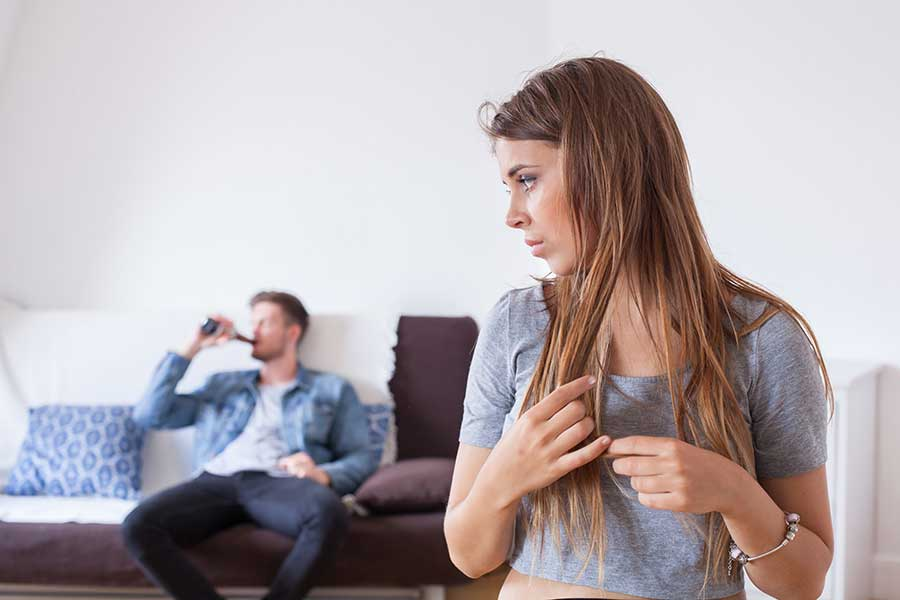 Spouse Exhibiting Signs of Alcoholism