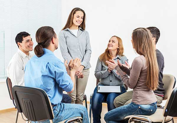 Group Therapy During Inpatient Treatment