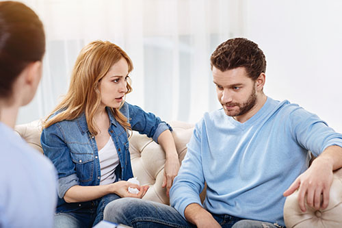 Woman wondering how to help someone with depression