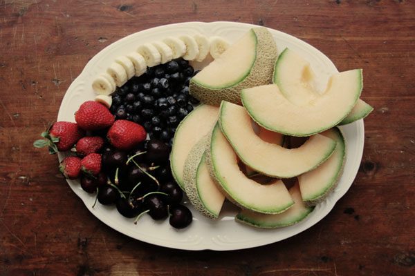 Fruit Plate at The Clearing