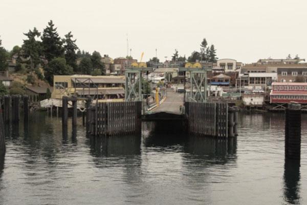 Friday Harbor at San Juan Island