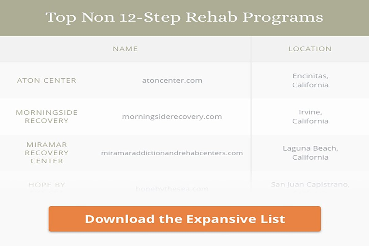 Non 12 Step Rehab: A Side-By-Side Comparison of the Best Programs